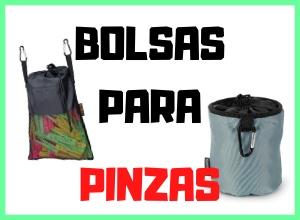 Bolsas y cestas para las pinzas