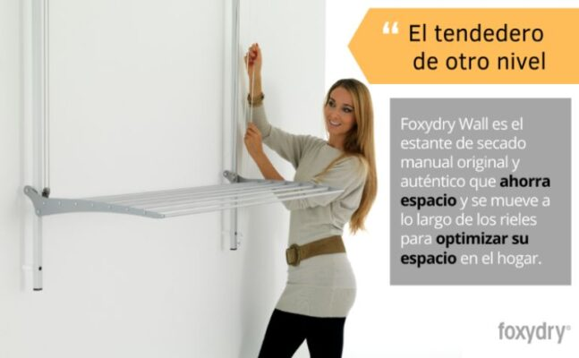 Mecanismo del mejor tendedero de pared vertical