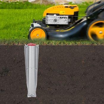 Soporte de anclaje al suelo del tendedero de jardín