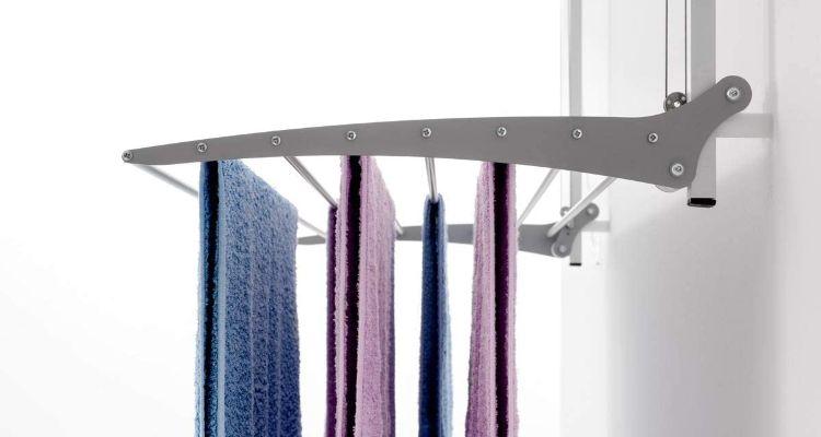Rejilla de tendido guiada del tendedero foxdry Wall