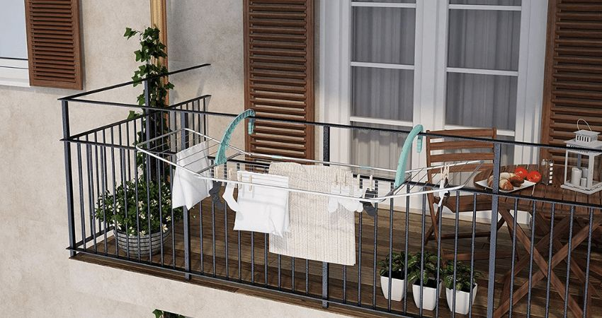 Mejor tendedero de ropa para balcón